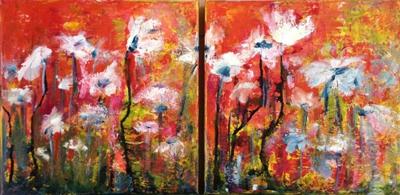 Kleintje Kunst Puur wit (30 x 30)