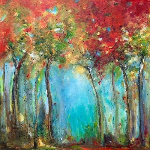 Kleuren van het seizoen (60 x 60)
