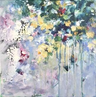 De hangende tuin (40x40)