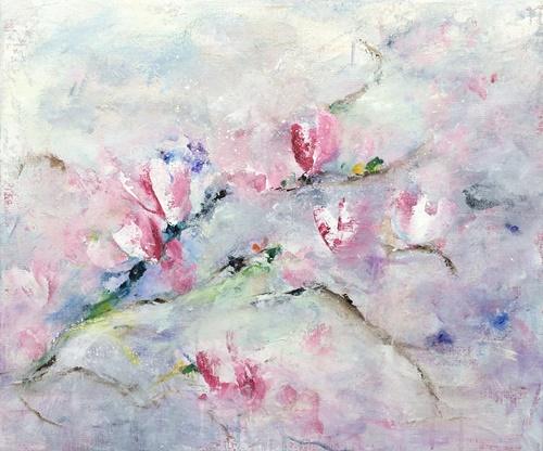 Ik proef het voorjaar (60 x 50)