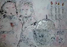 Vrouwen en hun liefde 90 x 70)