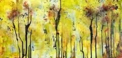 De winterbomen (80 x 40)