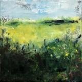 Een bedje vol lente (30 x 30)