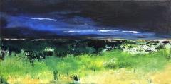 Middernacht blauw (60 x 30)