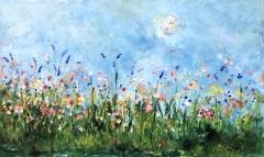 De vlindertuin (100 x 60)