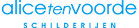 Alice ten Voorde Schilderijen Logo
